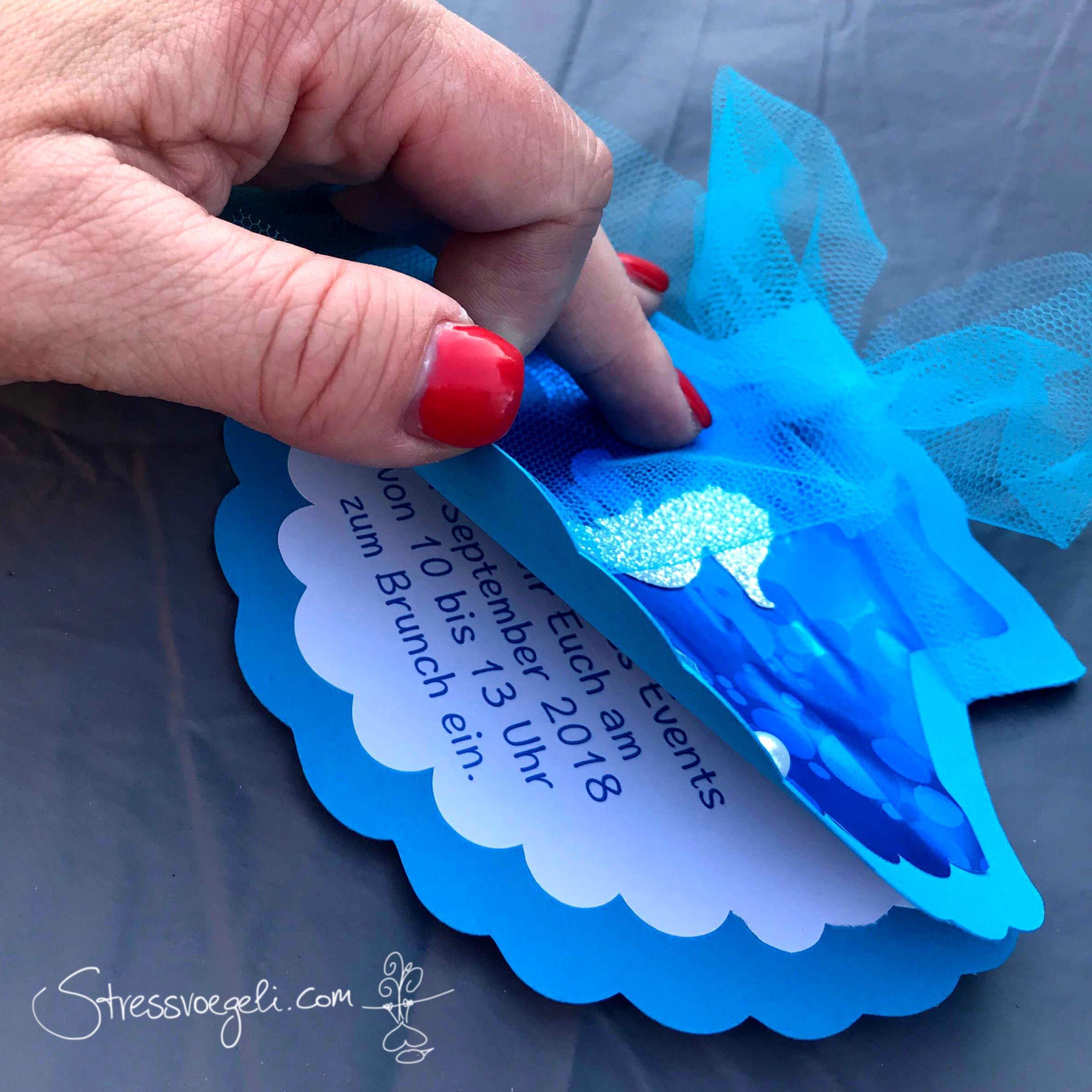 Einladung Brunch Meerjungfrau