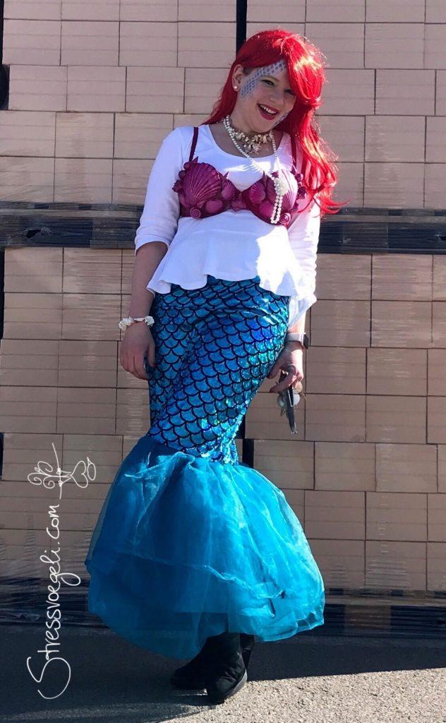 Fasnacht Meerjungfrau Karneval nähen