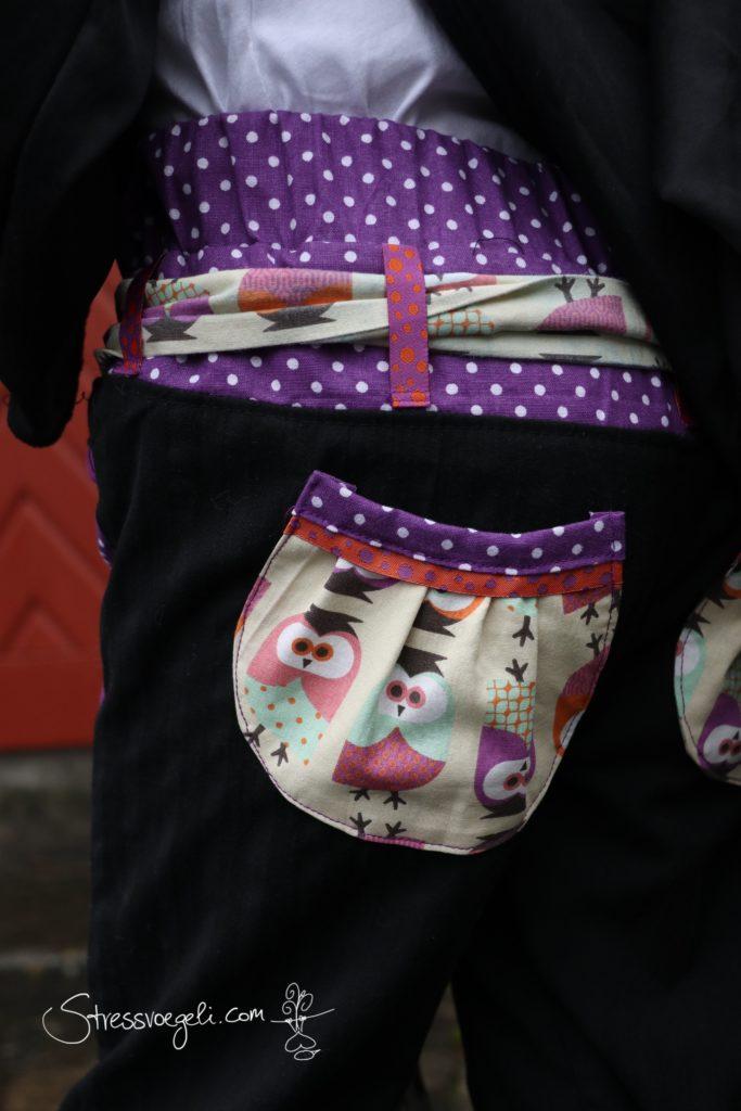 Stressvoegeli Hose Svenna runde Taschen Rückseite